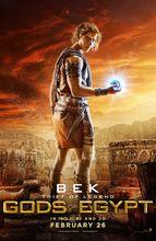 Plakat filmu Bogowie Egiptu