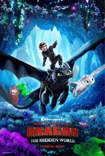 Plakat filmu Jak wytresować smoka 3