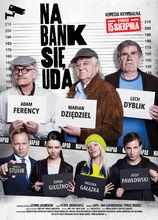 Plakat filmu Na bank się uda