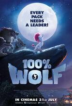 Movie poster Wilk na 100%